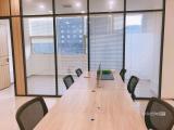 高新技术园写字楼,精装修,带部90平米,租6000元一个月