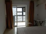 单身公寓精装修朝南一线看海房子干净漂亮超大阳台观音山