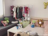 清爽装修莲花莲花中学医院麦当劳玉亭里3室其中一间22m²