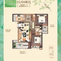 古龙尚逸园86㎡两房两厅