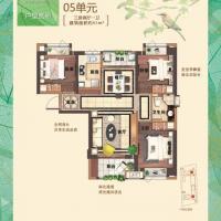 古龙尚逸园93㎡三房两厅