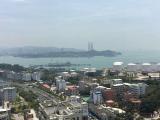 未来海岸北师大片区,高层,精装大两房,阳台视野广阔,眺望岛内双子星塔