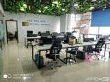 软件园二期188平精装带家具有隔间拎包办公