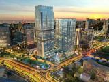 万达广场旁,2W平商业性质写字楼出售,挑高6米。可做酒店和集团总部