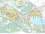 漳州有轨电车线路及站点方案曝光 接驳厦门地铁6号线角美段