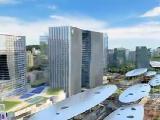 滨海城市综合体建设有序推进:厦海上世界主体建筑封顶
