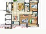 沧林路彼岸Patio3室2厅2卫131.59m²