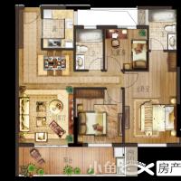 月港官邸D7户型,三房两厅两卫,建筑面积约98㎡.png