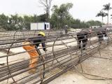 324国道跨线桥预计10月完工 第一标段年底具通车条件