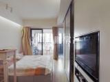 海峡国际社区二期精装单身公寓高层视野好满二年