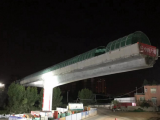 厦门首座转体桥华丽转身  健康步道成功跨越鹰厦铁路
