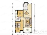 汇景广场首开领翔上郡2室2厅1卫86.21m²房东急售价格全网最低