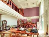仙岳山庄双拼类独幢占地300平客厅挑高6米