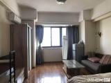 实拍万达公寓D1木纹家具齐全边角软件园万科鼎丰车位三百
