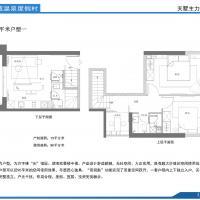 海明威温泉度假村79m²海湖双景楼中楼平面图.jpg