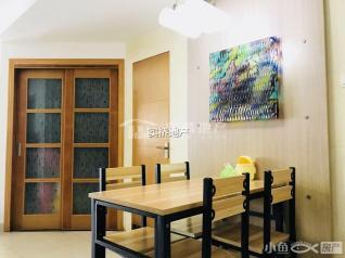 转租山木清华电梯中间层两房改三房家具家电齐全4000