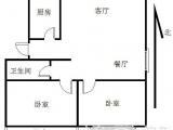 宁安里2室2厅1卫满屋唯一出售精装修