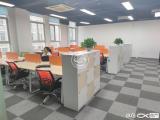 软件园新精装260平带全套办公家具三个隔间随时看房