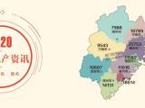 福建各地级市房价地图(2020.8)