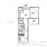 园博壹号院别墅98㎡北户型