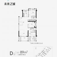 金地阳光城宝嘉·未来之城线上D89户型8幢601室.jpg